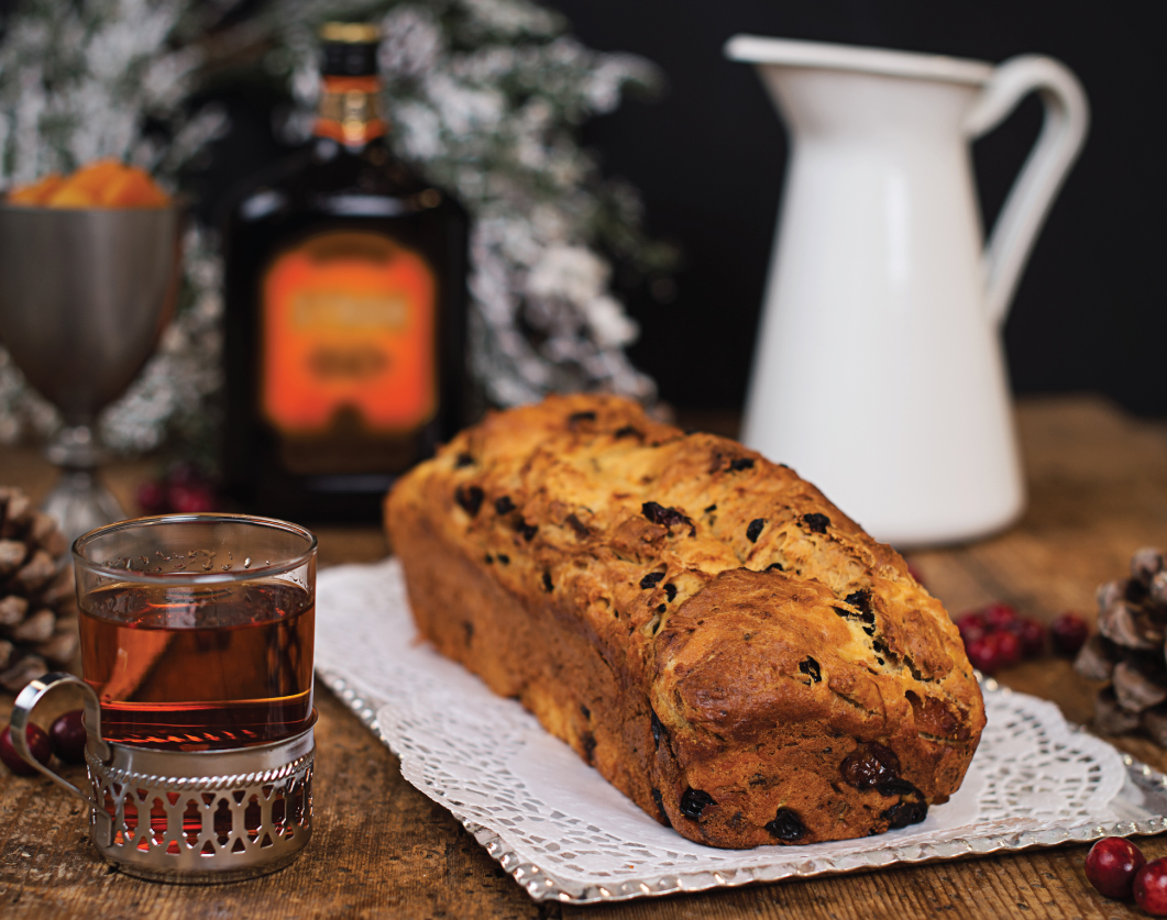 This delicious rum fruitcake is sure to impress your guests. #Stroh160