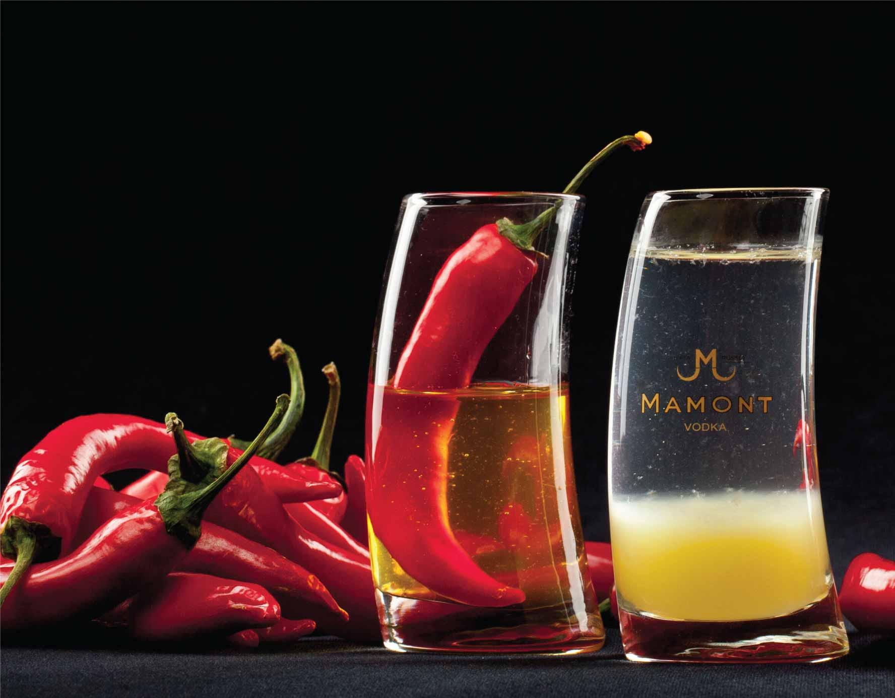 Choose adventure with Mamont Vodka shots #ChooseAdventure